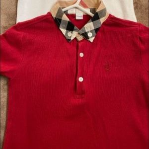 Burberry toddler button up